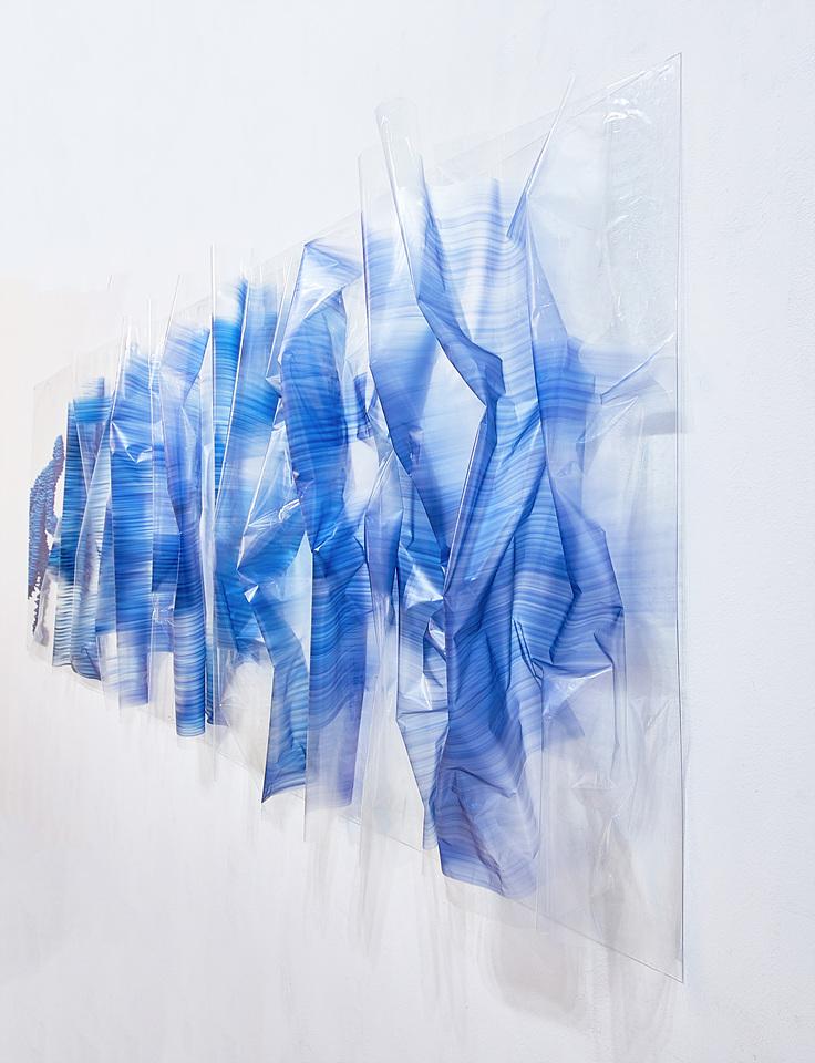 접착 시트지 - 파랑 인체 3