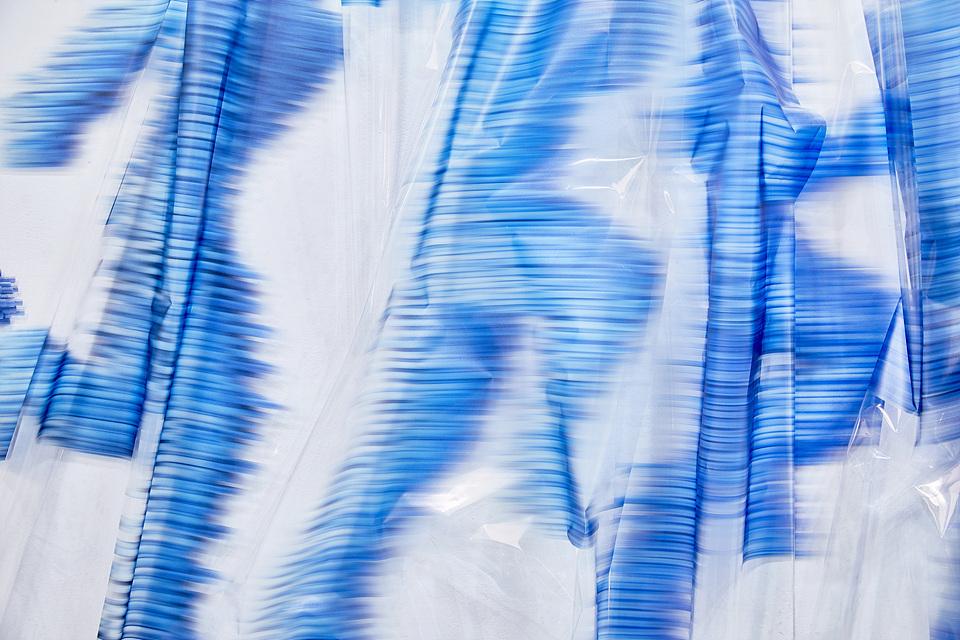 접착 시트지 - 파랑 인체 4