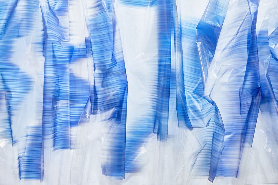 접착 시트지 - 파랑 인체 5
